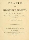 Cover of Traité de mécanique céleste