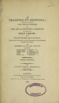 Cover of A treatise on brewing