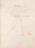 Cover of [Trigonometry] ; [Navigation] ; [A journal by God's permission of the ship Panther from England toward Madeira, Capt. J[oh]n Bonline Commander]