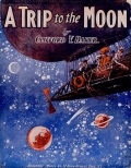 "Cover of ""A trip to the moon"""
