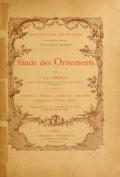 """Cover of """"Étude des ornements"""""""