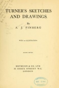 Cover of Turner's sketches and drawings