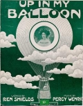 "Cover of ""Up in my balloon"""
