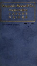 Cover of Varnishes, japans, drier