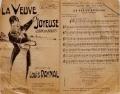 """Cover of """"La veuve joyeuse"""""""