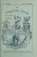 Cover of Le vingtième siècle - texte et dessins