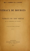 Cover of Vitraux de Bourges