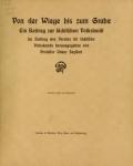 Cover of Von der Wiege bis zum Grabe