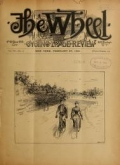 Cover of The Wheel and cycling trade review