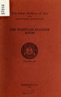 """Cover of """"The Whistler Peacock room."""""""