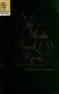"""Cover of """"The Whistler Peacock Room /"""""""