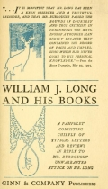 Cover of William J. Long and his books