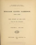 Cover of William Lloyd Garrison, 1805-1879
