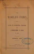 Cover of The world's fairs