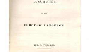 Family education and government- a discourse in the Choctaw language.