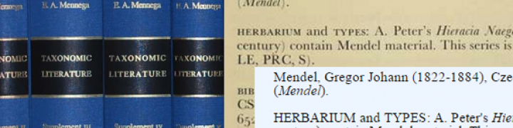 Taxonomic Literature 2 online