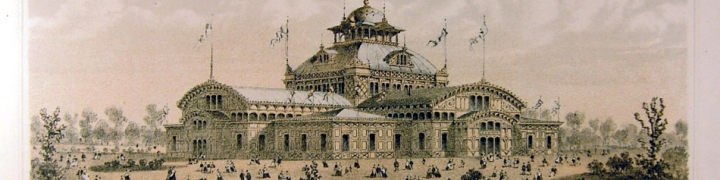 "Image of the ""Women's Pavilion"" from 1876 Centennial International Exhibition"