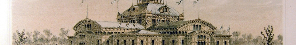 Image of the Women's Pavilion from 1876 Centennial International Exhibition
