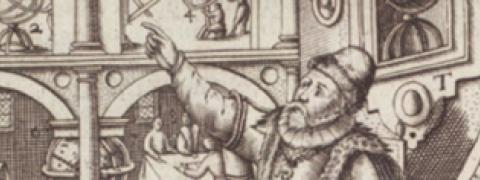 Image from 1599 astromony book byJames Bassantin