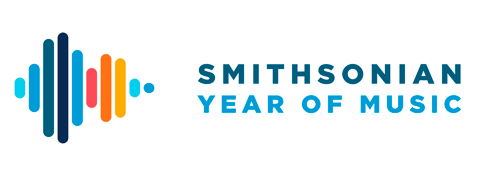 Logo reading Smithsonian Year of Music