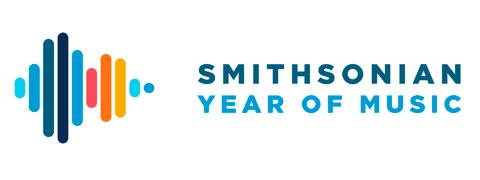 Logo reading Smithsonian Year of Music