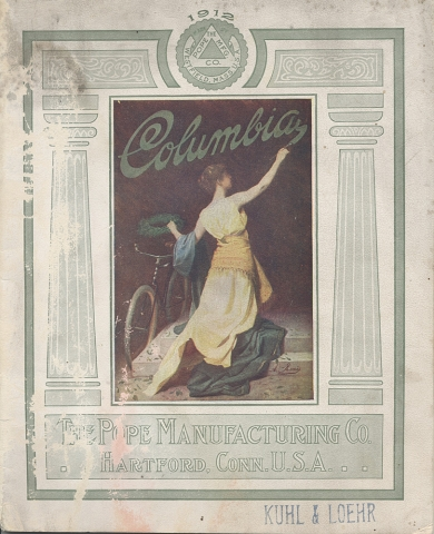 Columbia bicycle catalog