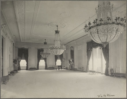 East room of the White House in Washington, D.C., c. 1902.