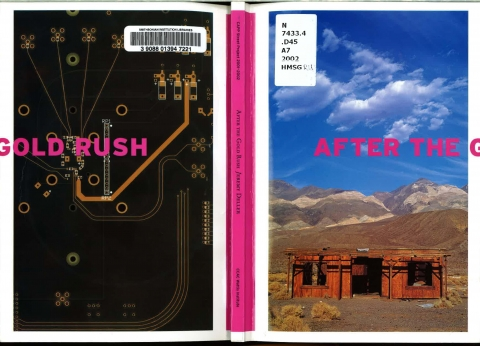 Jeremy Deller, After the Gold Rush, front and back cover