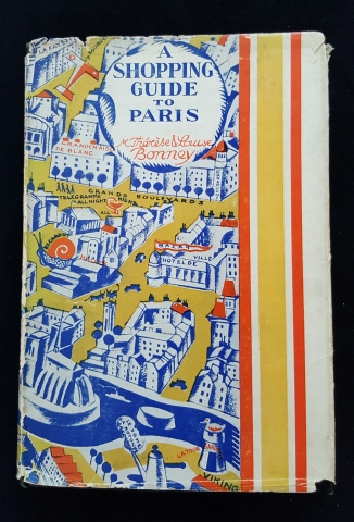 Cover of A Shopping Guide to Paris