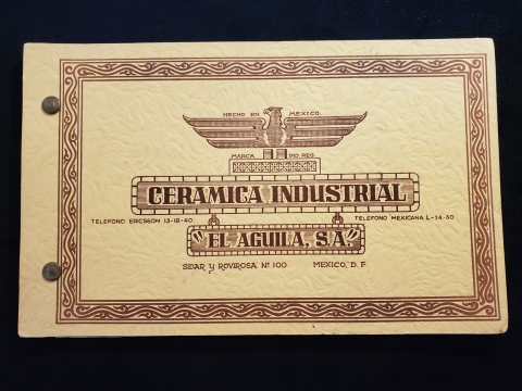 "Cover of Ceramica Industrial ""El Aguila, S.A."""