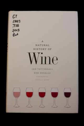 Cover of A Natural History of Wine