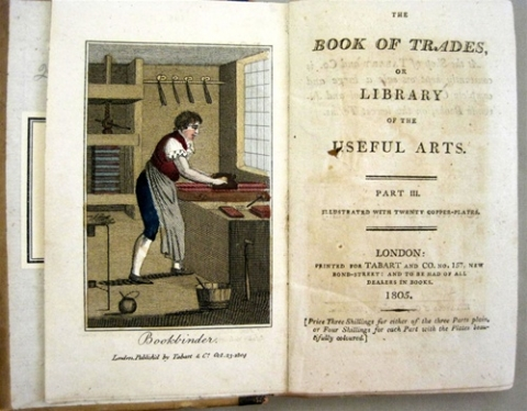 The book of trades, or, Library of the useful arts