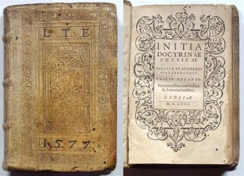 Initia doctrinae physicae: dictata in Academia VVitebergensi...; iterum edita cum indice & annotationibus.