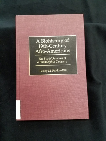 Cover of Biohistory of 19th-century Afro-Americans