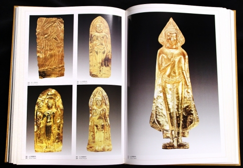 The Golden Figures of Buddha and Buddhist Sites in Thailand, photographs