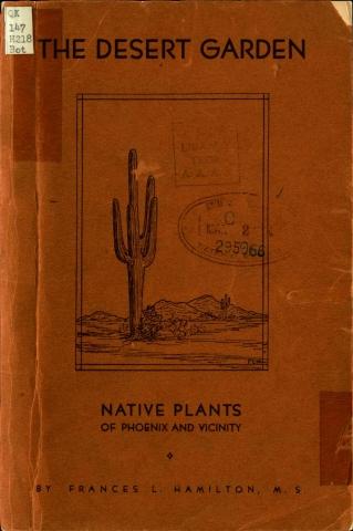 Book cover of The Desert Garden