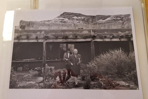 Georgia O'Keeffe Correspondence with Joseph Hirshhorn