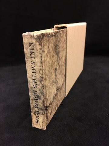 Kiki Smith's Dowry Book and slipcase