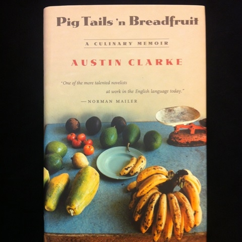 Cover of Pig Tails, showing traditional Caribbean produce.