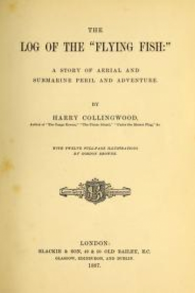 "Cover of ""The log of the 'Flying Fish'"""
