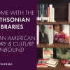 Display of books from the National Museum of African American History & Culture Library