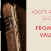 Adopt-a-Book Salon: From the Vaults with images from and of books