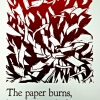Riccio Queen Paperburns Broadside