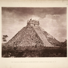 Photo of Chichen Itza from Biologia Centrali Americana Archaeology v.3