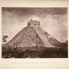 Photo of Chichen Itza from Biologia Centrali Americana Archaeology v.3