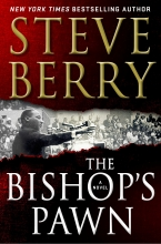 """Steve Berry's book cover of """"The Bishop's Pawn"""""""