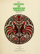 Cover of 1971 Festival of American Folklife July 1-5