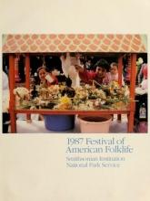 Cover of 1987 Festival of American Folklife