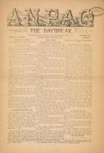 Cover of Anpao - v. 44 no. 5 Sept. 1933