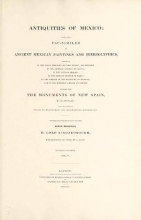 Cover of Antiquities of Mexico v. 5